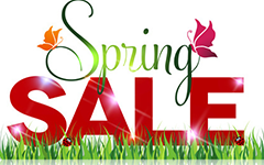 Spring Sale Coupons and Deals