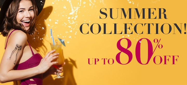 Summer Collections! Get Save Up To 85% OFF at Fashionmia, Hurry To Shop Now!