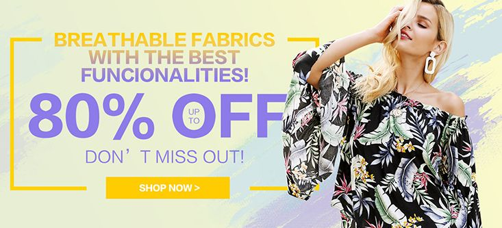 Breathable With The Best Funcionalities! Up To 80% OFF, Don't Miss Out, Shop Now at Fashionmia.com