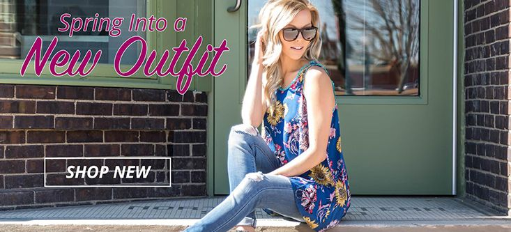 Spring Into a New Outfit! Bright Colors, Endless Possibilites with FreeShipping, Shop Now!