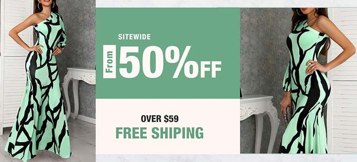Clearance Sale! Get Up To 50% Off Sitewide + Free Shipping on Orders Over $59 at ivrose!