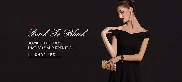 Black To Black! Black Is The Color, That Say And It All, Shop LBD at Metisu Boutique