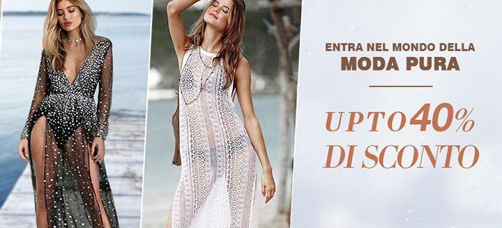 Entra Nel Mondo Della Moda Pura! Get Save Up To 40% OFF only at Milanoo, Hurry to Shop Now!