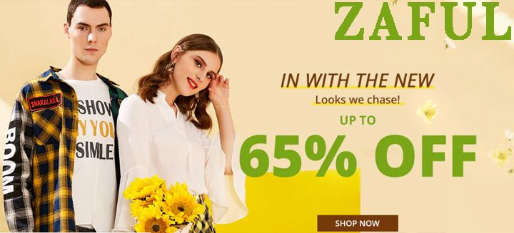 Save Up To 65% OFF at zaful.com Start Savings with Couponistic Today click NOW !