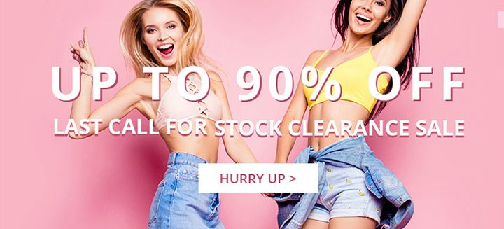 Hurry Up! Save Up To 90% OFF, Last Call For Stock Clearance Sale only at TrendsGal, Shop Now!