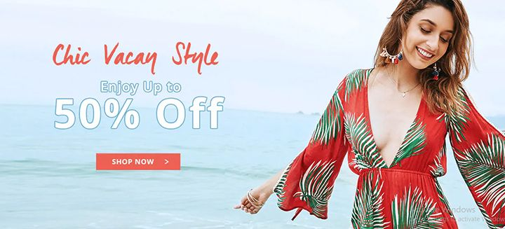 Chic Vacay Style 2018! Enjoy Up To 50% OFF on All Beachwears, Swimwears and Swimsuits at Zaful!